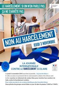 Journée contre le harcèlement!