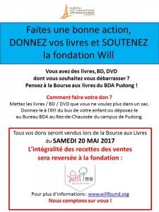AFF DON LIVRES WILL FONDATION