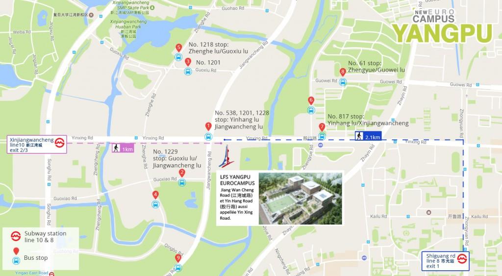 Yangpu_map_acces