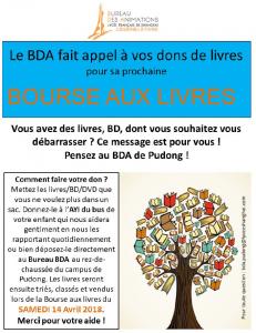 BDA - Bourse aux livres