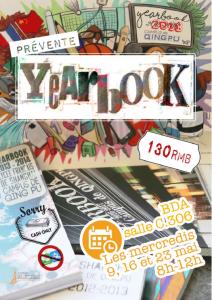 Pré ventes du Yearbook