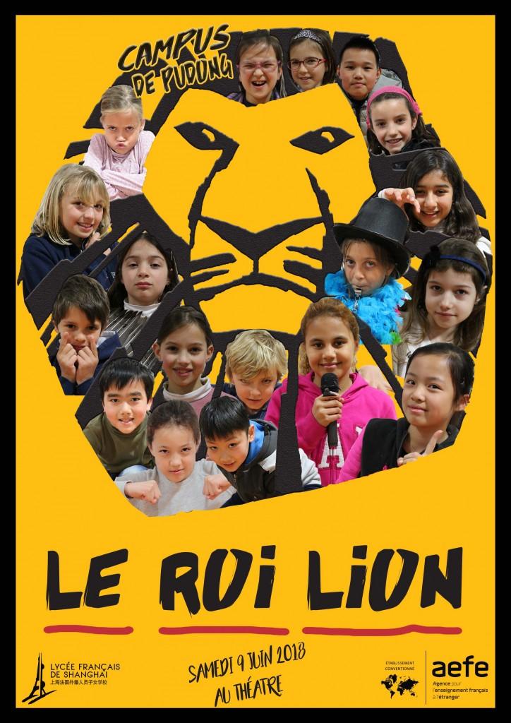 Roi Lion affiche BD
