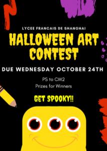 Concours d'art Halloween du LFS Pudong