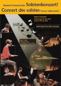 2ème concert des solistes franco-allemands