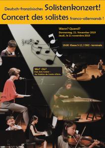 1er concert des solistes franco-allemands