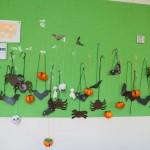 halloween 1 mur classe