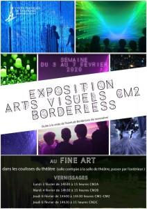 Exposition arts visuels CM2 Borderless